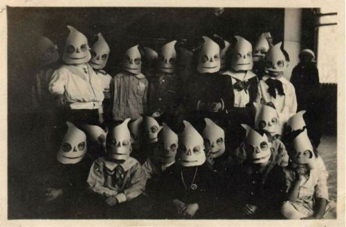 what gets you movin creepy vintage halloween photography