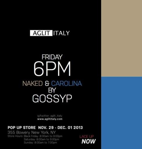 Gossyp  Aglit Italy Laces Pop Up